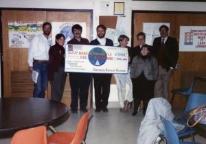 Members of Dorchester Recycles Volunteers. 1992.