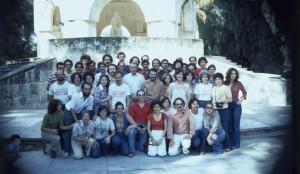 "Members of the ""Brigada Antonio Maceo"" in Cuba"