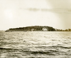 Thompson's Island, 1927. Image from the Thompson's Island collection in University Archives & Special Collections at UMass Boston.