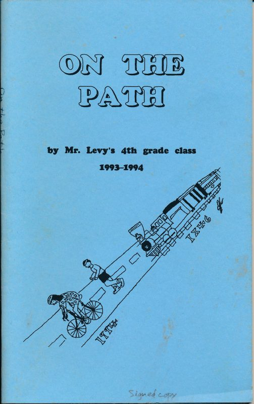 """On The Path,"" Minuteman Bikeway 4th grade class project"