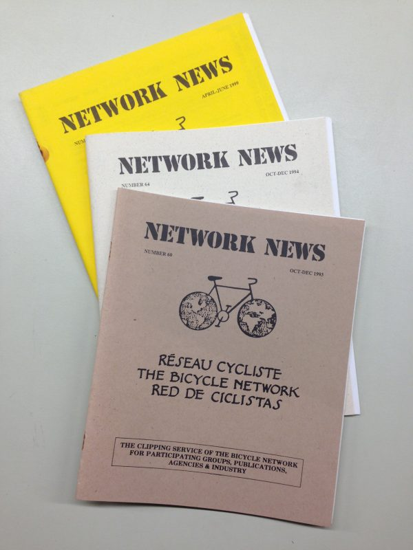 The Bicycle Network: Network News