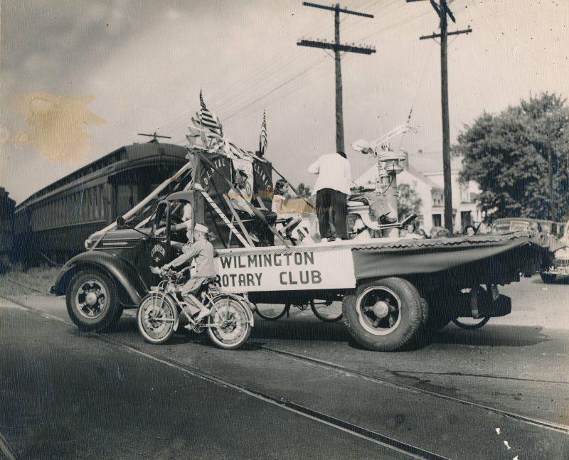 Rotary Club sponsor of parade