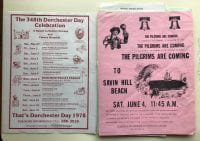 Two flyers advertising Dorchester Day, 1978
