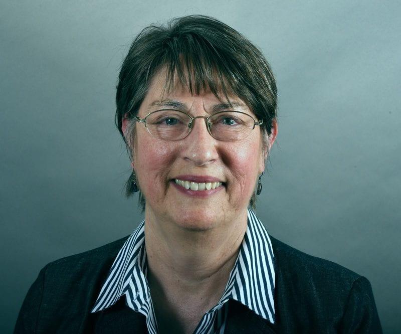 Portrait photograph of Joanne Riley
