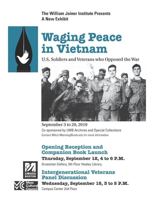 Waging Peace Flyer