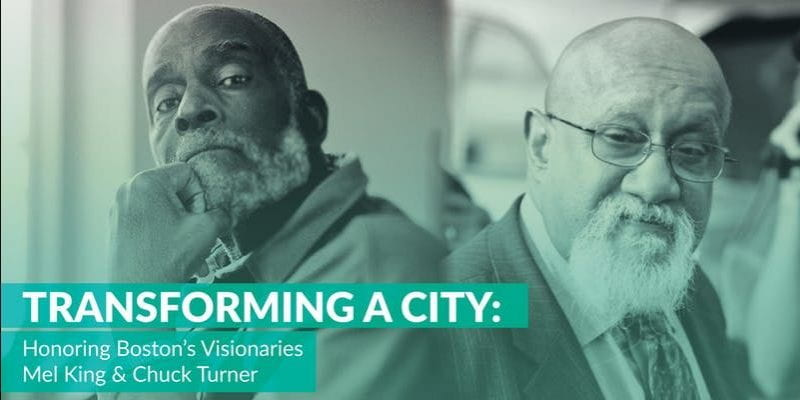 Image of Mel King and Chuck Turner, used for event