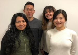 Nidya Velasco, Saehwang Han, Natalie Shelito and Yi Jung Kim
