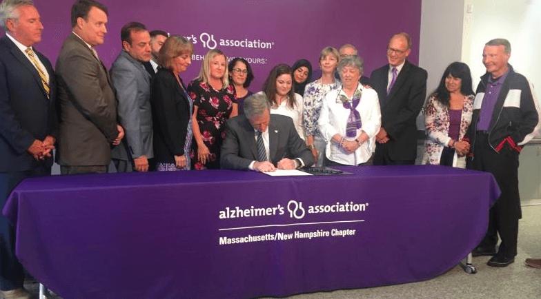 Alzheimer's bill signing