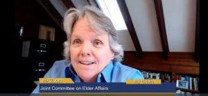 Beth Dugan testifies via Zoom