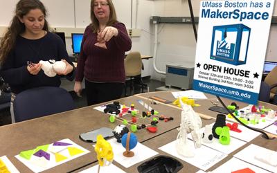 Make it 3D: A New Technology at UMass Boston