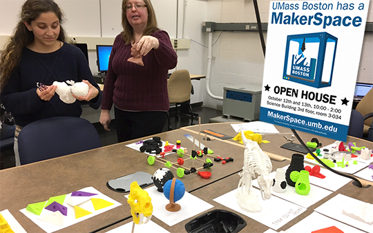 Make it 3D: A New Technology at UMass Boston