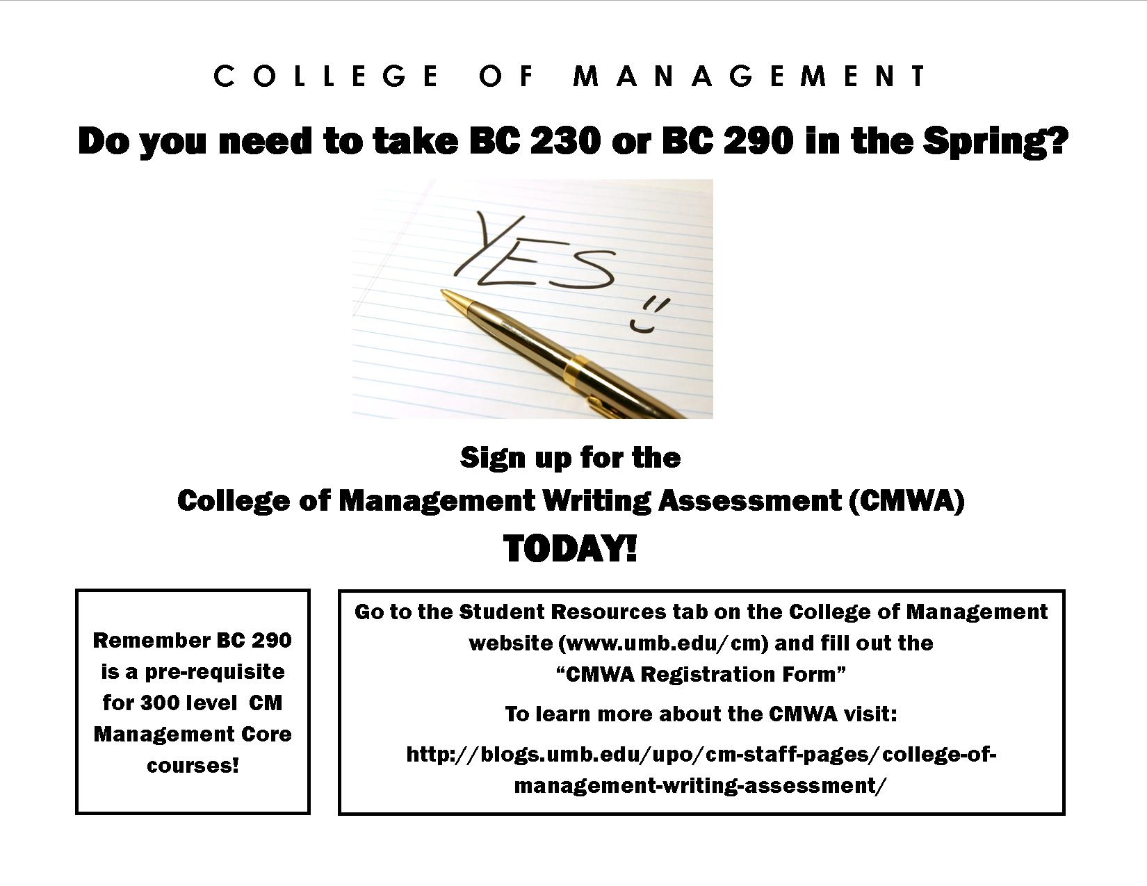 Ready Set Placement Test College Of Management Undergraduate