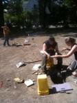 Shovel test pitting