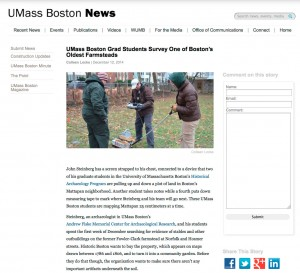 UMass Boston News