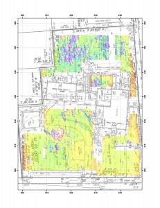CMD 3 conductivity preliminary readings at Fowler-Clark