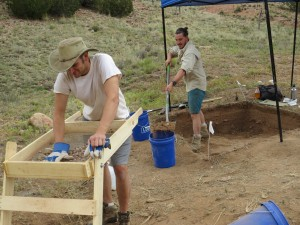 2015 excavations in New Mexico
