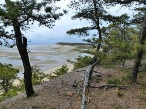 Great Island and Great Beach Hill in Wellfleet, MA