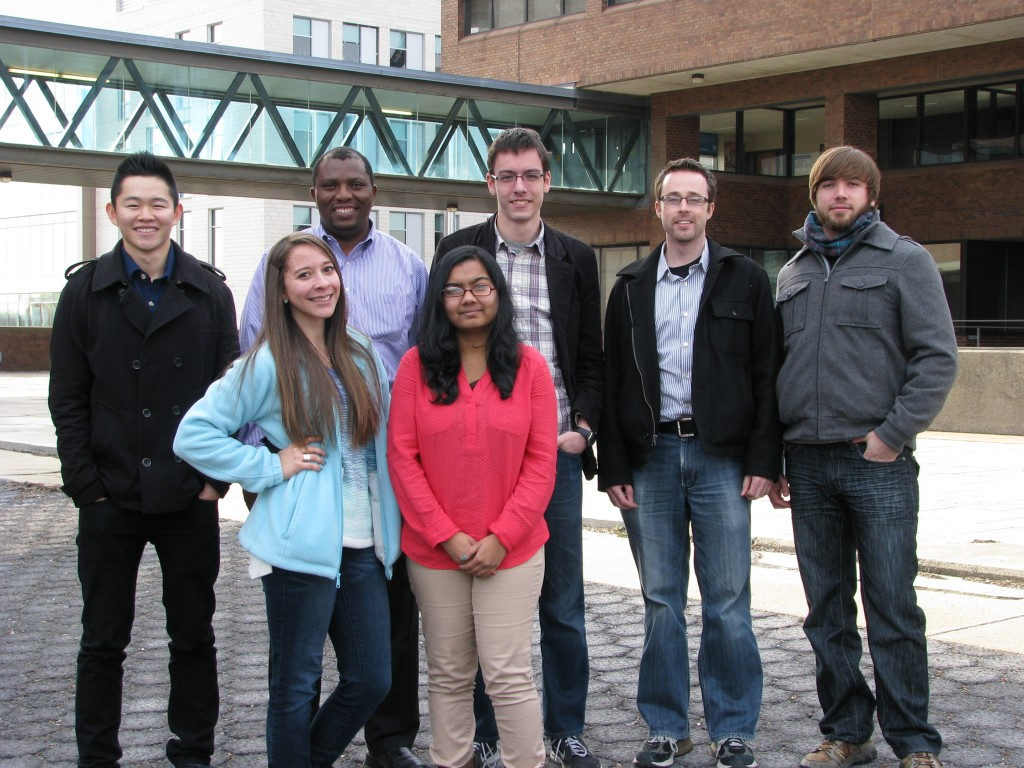 The group members as of Fall term, 2013