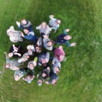SCASS Team as viewed from the drone