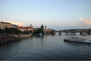 A view of the Charles Bridge in Prague (Photo by Amy Johnston).