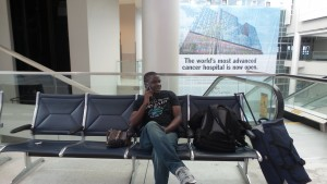Jeremiah, coming back to Boston from summer research in Columbus, Ohio