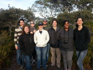 UMass Boston's IGERT program fellows of the 2015 cohort on Nantucket Island, MA (not pictured: Greg Davies)