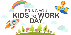 Bring Your Kids to work day image for presentation