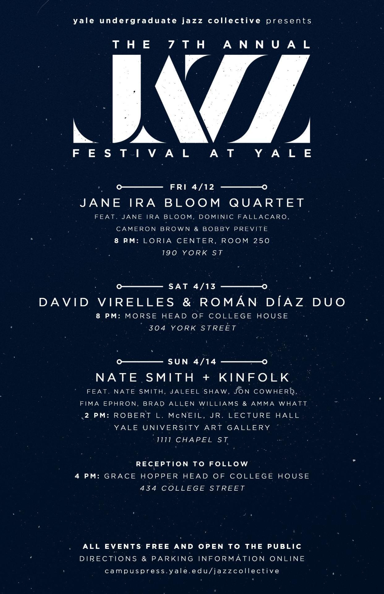 Yale Undergraduate Jazz Collective – Providing Performance