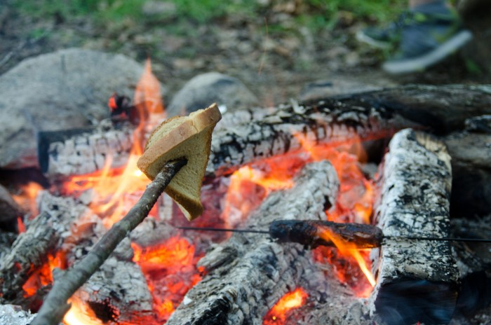 Bread over the fire