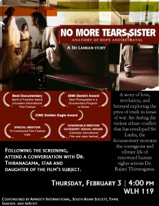 11.2.3 - No More Tears Sister Poster