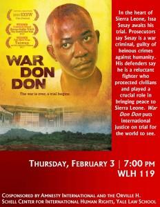 11.2.3 - War Don Don Poster