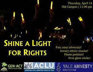 11.4.14 - Shine a Light for Rights Flyer