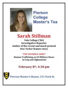 12.2.8 - Pierson Master's Tea, Sarah Stillman ad