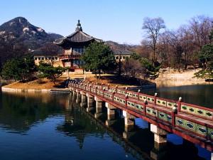 ??? ??? (Hyangwonjeong Pavilion at Gyeongbokgung)