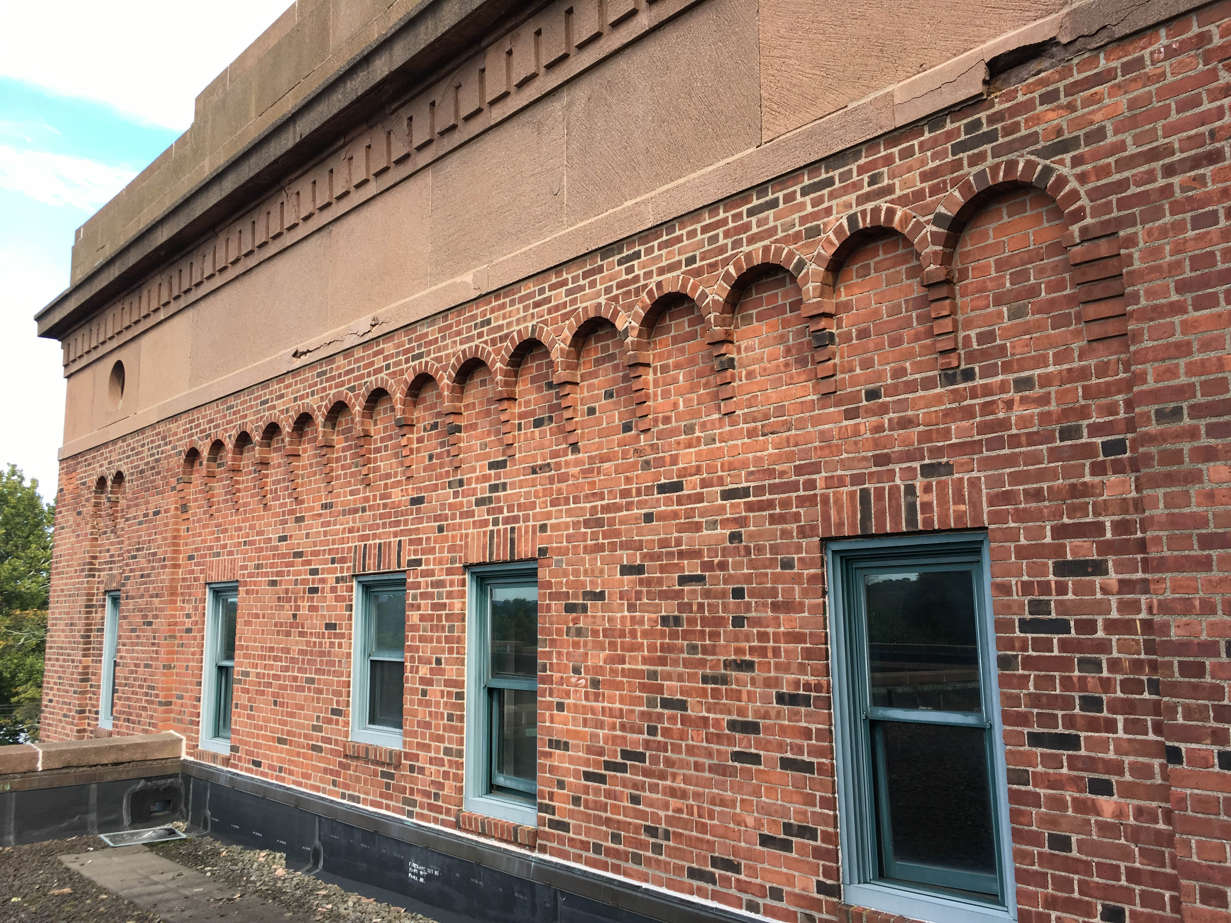 Brick Corbelling Excavating The Armory