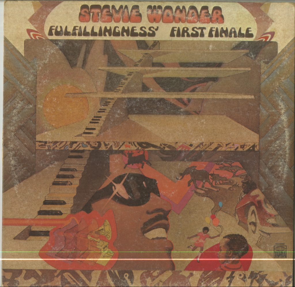Album cover for Stevie Wonder, Fulfillingness' First Finale