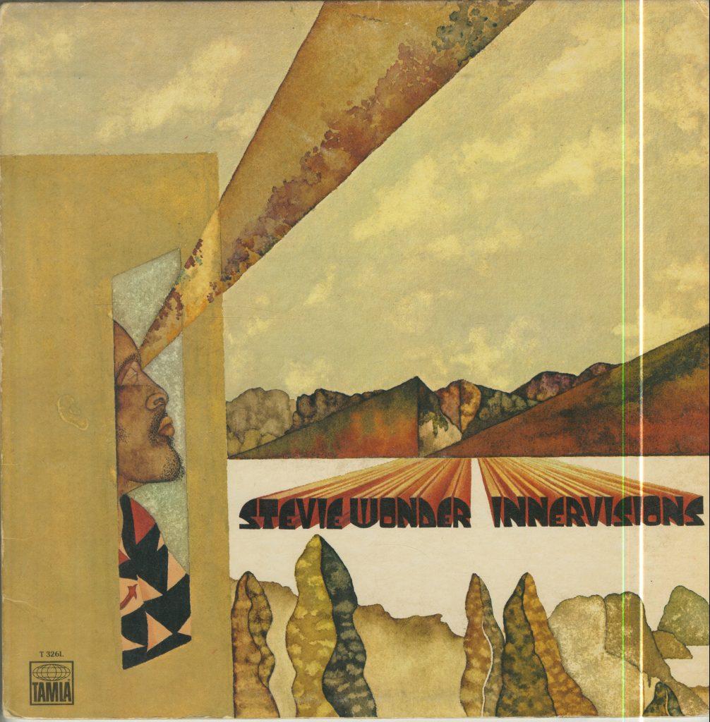 Album cover for Stevie Wonder, Innervisions