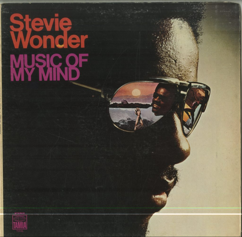 Album cover for Stevie Wonder, Music of My Mind