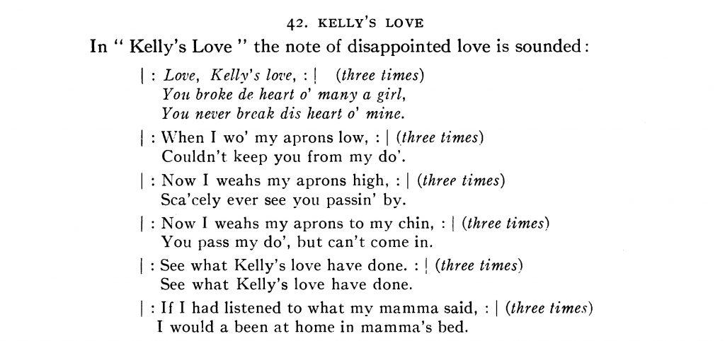 Image of Odum Kelly's Love Transcription