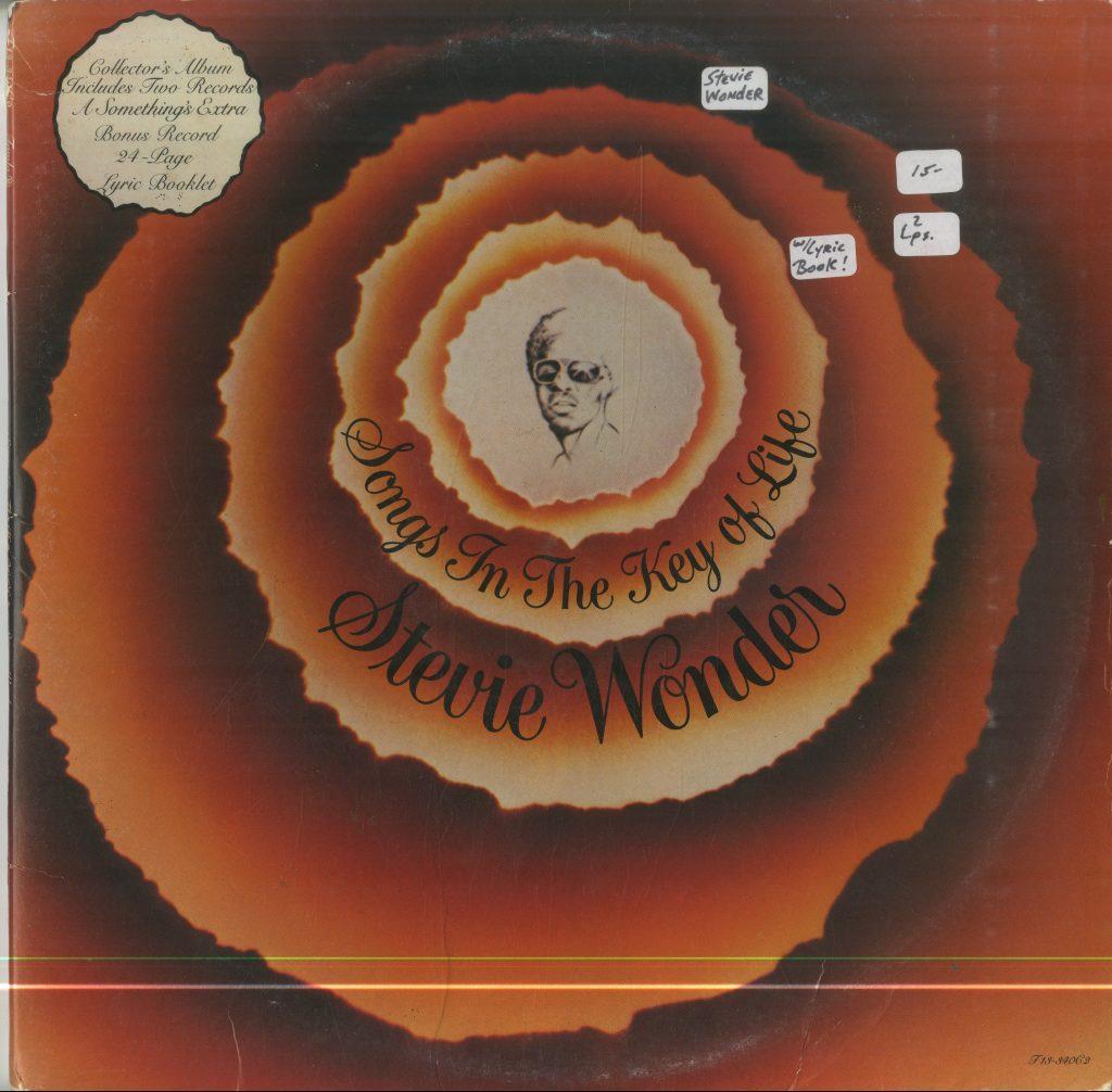 Album cover for Stevie Wonder, Songs in the Key of Life