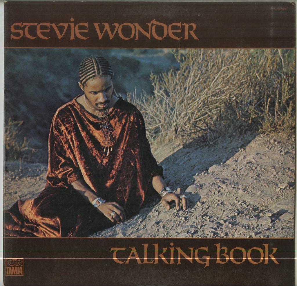 Album cover for Stevie Wonder, Talking Book