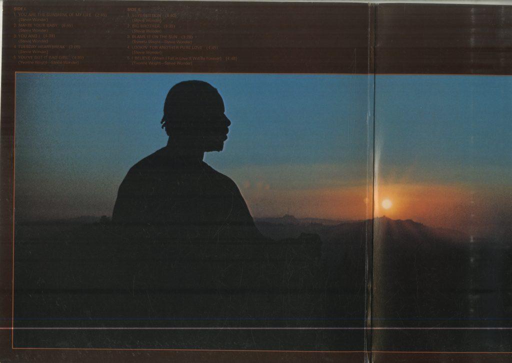 Album art for Stevie Wonder, Talking Book