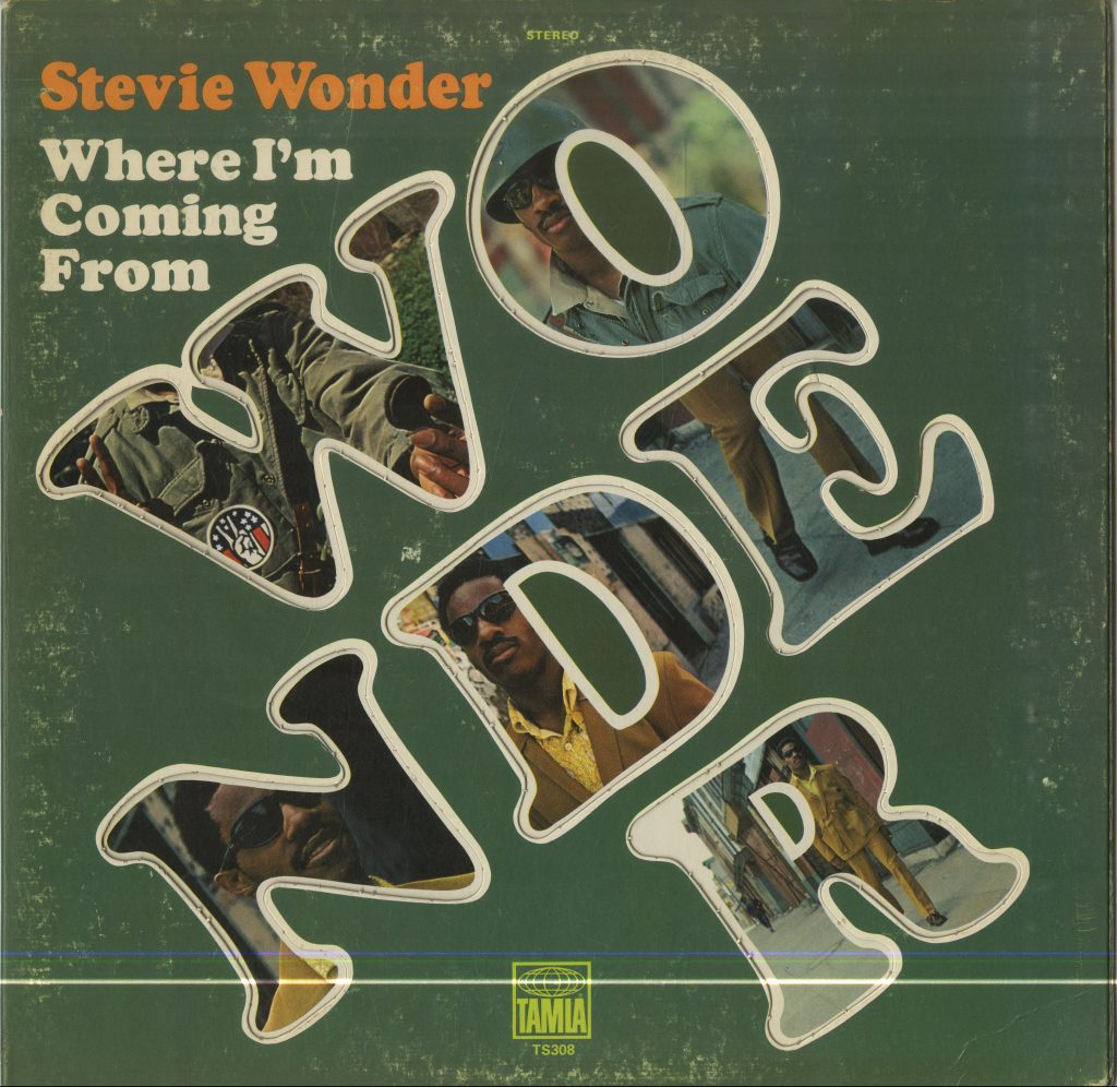 Album cover for Stevie Wonder, Where I'm Coming From