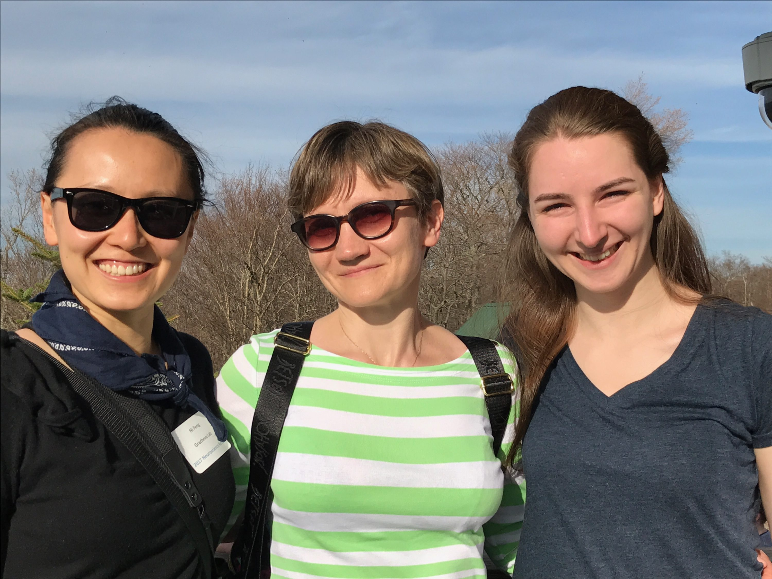 Lydia wins poster competition at Neuroscience retreat – Sensory ...