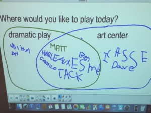 SmartBoard dad's day