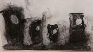 charcoal sketch Luke