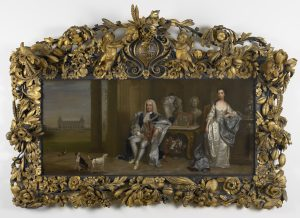 Double portrait of Sir Robert Walpole, 1st Earl of Orford, and Lady Walpole
