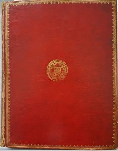 Cover of Lyson's Environs of London owned by Walpole