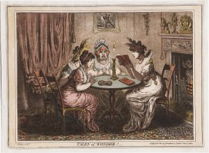 "Gillray print ""Tales of Wonder"""