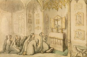 Nuns at Prayer Rowlandson